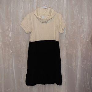 Dress Barn Cowl Neck Sweater Dress Size XL